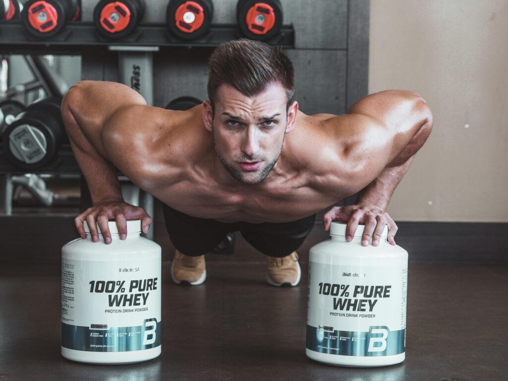 Bielkoviny a rast svalov