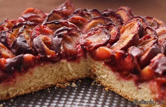 Slivkovo-škoricový koláč