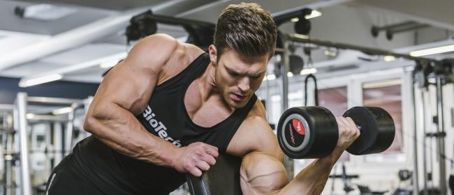 Cviky na biceps, ktoré musíte zaradiť do tréningu!