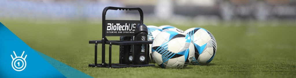 6+1 výživových doplnkov pre futbalistov