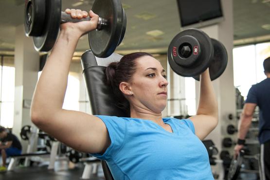 Cvičenie pre ženy - Horná polovica tela