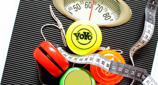 Reverznou diétou proti JOJO efektu