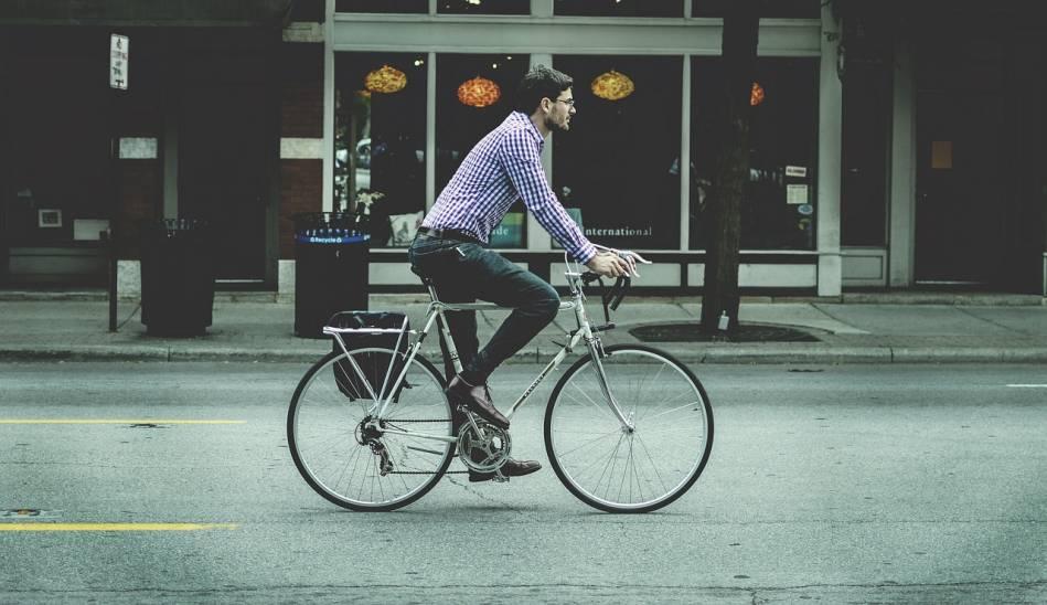 Zábavné a užitočné: bicyklovanie do práce