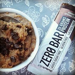 Minútový nízko-sacharidový Zero Bar cookie