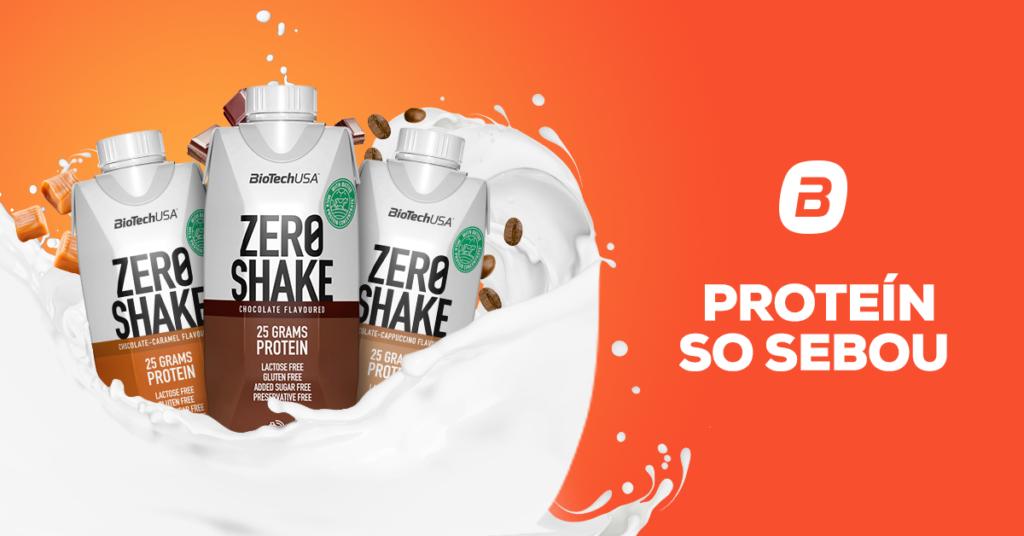 Zero Shake - proteín so sebou